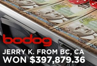 Bodog Casino Player Wins $397,879