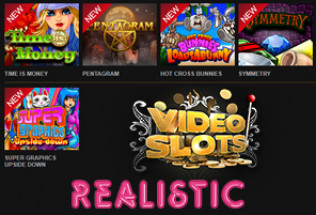 Videoslots.com Adds Realistic Games Content to Library