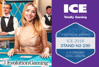Evolution Gaming Begins Revolution at ICE London