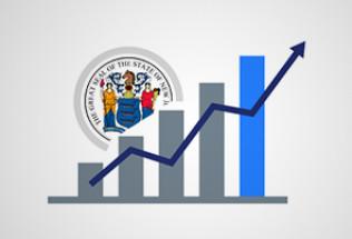 New Jersey Online Gambling Revenue Soars as Land-Based Plummets