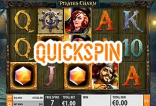 Quickspin Rolls Out Pirate's Charm Slot