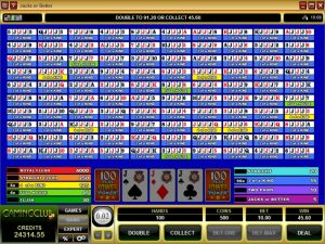 100-Play-Video-Poker