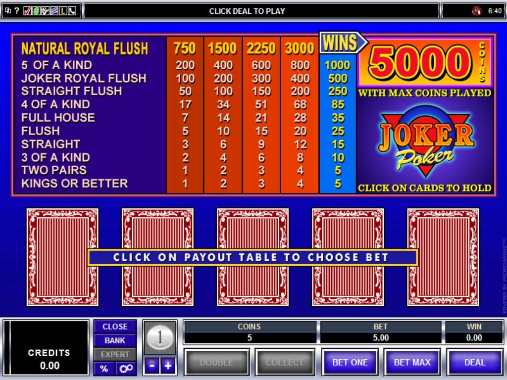 Spiele Joker Poker - 3 Hands - Video Slots Online