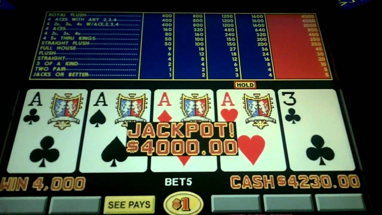 Video poker double double bonus poker agp video card in pci slot