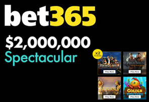 60,000 in Bonuses to be Won during bet365's $2m Spectacular