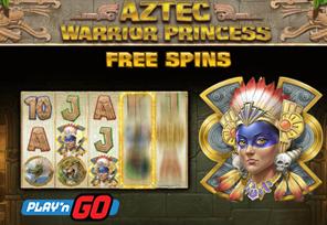 Play'n GO Announces Aztec Warrior Princess Release
