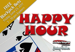Intertops and Juicy Stakes Host Friday Happy Hour