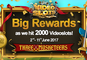 Videoslots.com: 2,000 Games and Counting