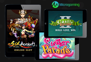 July Brings a Trio of Slots from Microgaming