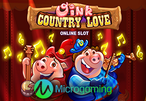Microgaming Announces Oink Country Love Slot