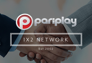 1x2 Network and Pariplay Form Partnership