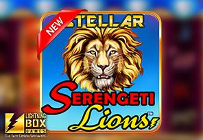Lightning Box Launches Stellar Serengeti Lions