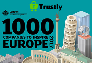 Trustly Recognized as Fastest-Growing SME