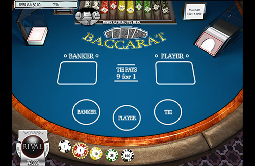 Rival Online Baccarat