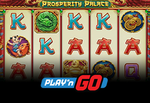 Play'n GO Releases Prosperity Palace Slot