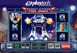 Playtech Live with RoboCop