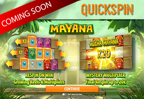 Quickspin To Launch Mayana In October