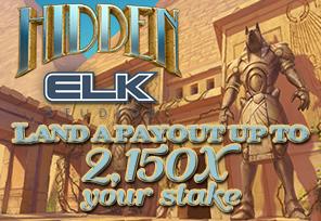 Win 2,150X Your Stake with Elk Studios' Hidden