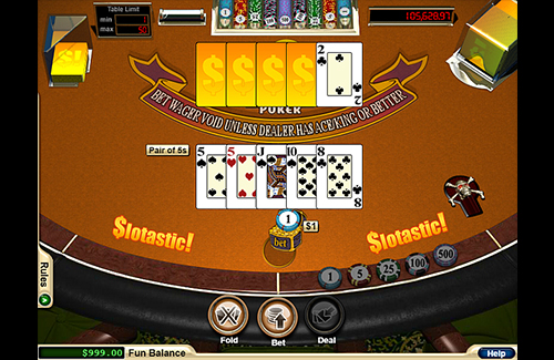 Real Time Gaming Online Caribbean Stud Poker