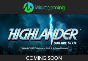 Microgaming Buys Rights For Highlander