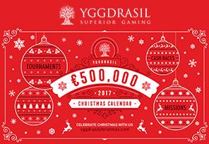 Yggdrasil Unveils €500K Christmas Calendar