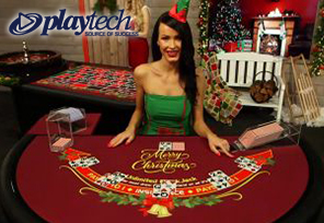 Playtech Goes Festive with Live Dealer Games