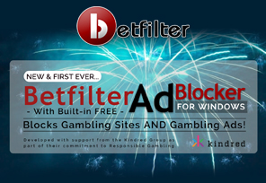Kindred Releases SRT For Gambling With Betfilter