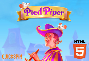 Quickspin Reveals 'Pied Piper' Slot