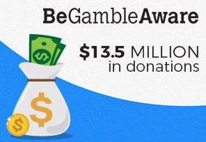 GambleAware Gets $13.5m in Donations