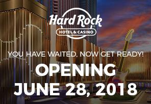 Hard Rock Atlantic City Opens June 28th