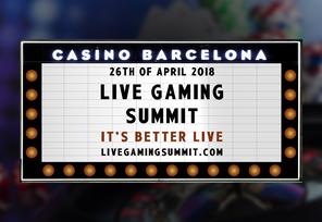 Live Gaming Summit Kicks Off On April 26th