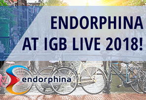 Endorphina to Showcase at iGB Live 2018