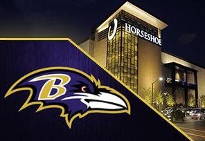 Horseshoe Casino Partners With Baltimore Ravens
