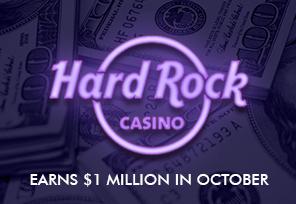 Hard Rock Online Hits $1M in Revenue