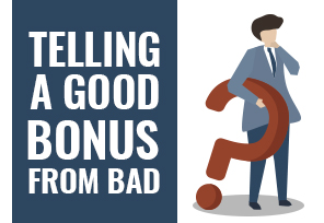 What Makes a Good Online Casino Bonus?