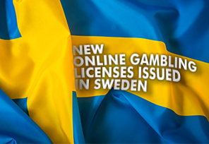 New Online Gambling Licenses Issued in Sweden