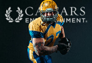 Caesars Becomes NFL's First Casino Sponsor