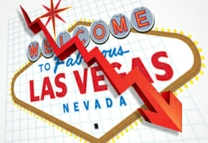 Vegas Gaming Stock Values Decline in 2018