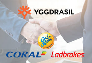Yggdrasil Agrees Content Deal With Several GVC Brands