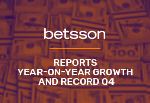 Betsson Reports Year-on-Year Growth and Record Q4