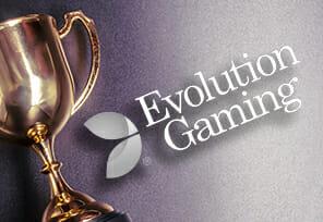 Evolution Gaming Wins Big at Global Gaming Awards