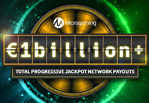 Microgaming Pays Out €1 Billion In Jackpots