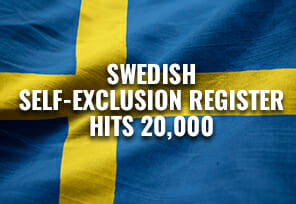 Swedish Self-Exclusion Register Hits 20,000