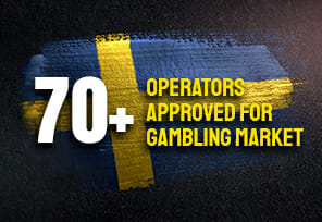 Over 70+ New Operators Approved in Sweden