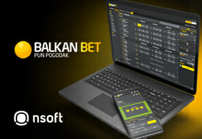 NSoftc's Live MTS Launches with Balkan Bet