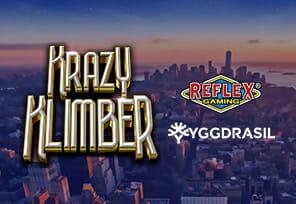 Yggdrasil-Gaming-to-Deliver-Krazy-Klimber-via-Reflex-Gaming