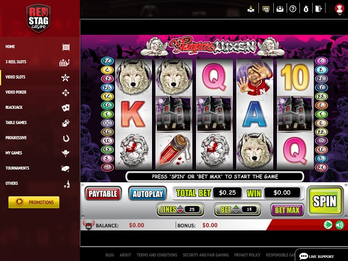 Red Stag Casino New Game 2