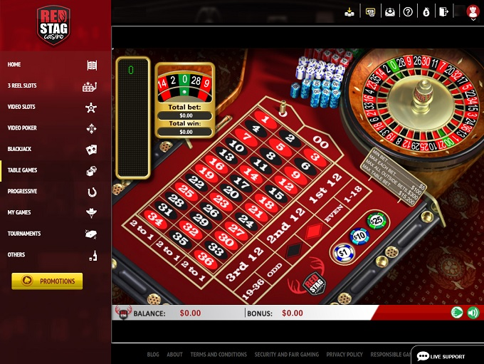 Red Stag Casino New Game 3
