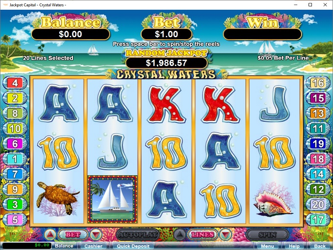 Jackpot Capital Casino Instant Play
