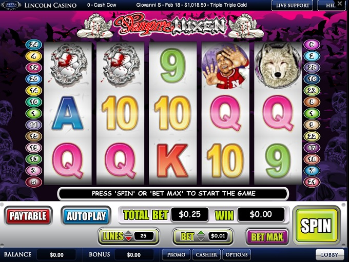 Lincoln Casino game 2